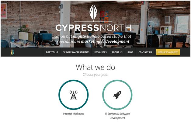 Вариант дизайна сайта
